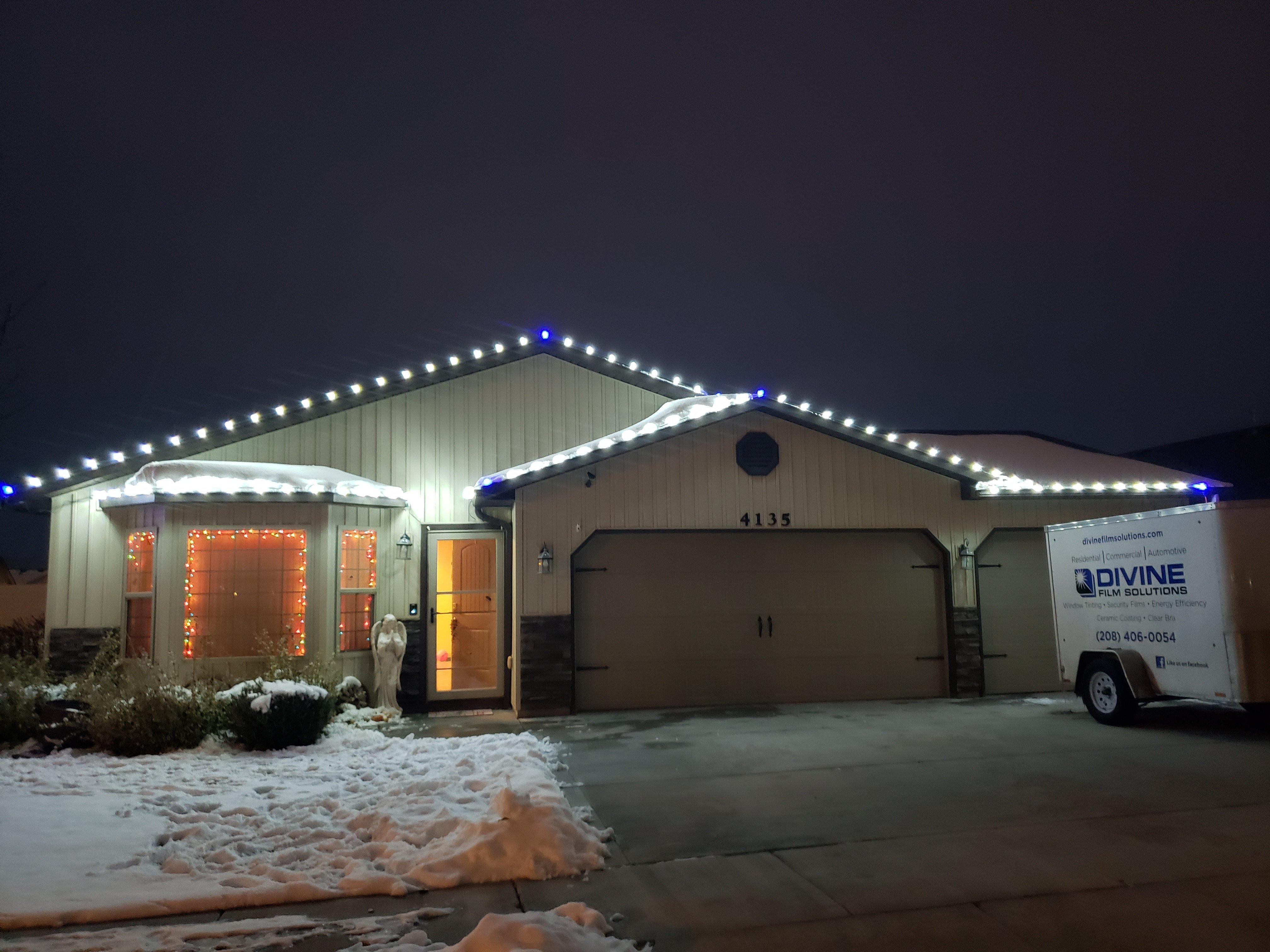 Pocatello Christmas lighting